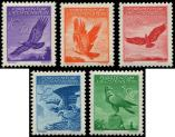 Lot n° 4761 - ** - LIECHTENSTEIN PA 9/13 : Aigle Royal, la série de 1934/36, TB