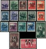 Lot n° 4786 - ** - TRIESTE ZONE A 1/17 : série courante de 1947/48, TB
