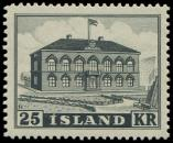 Lot n° 4745 - ** - ISLANDE 238 : Parlement, 25k. noir, TB
