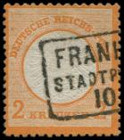 Lot n° 4690 -  - --- EMPIRE 21 : 2k. orange, obl., TB. C